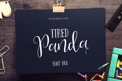 Tired Panda Script (40% Off)