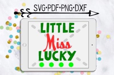 Little Miss Lucky Cutting Designs