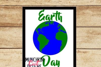 Earth Day Cutting Designs