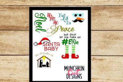 Christmas Cutting Designs Bundle