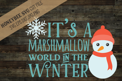 It's A Marshmallow World