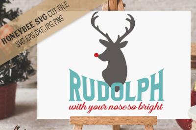 Rudolph Nose So Bright