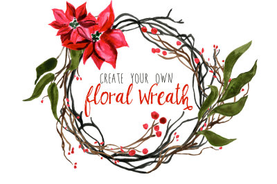 Create Your Own Floral Wreath