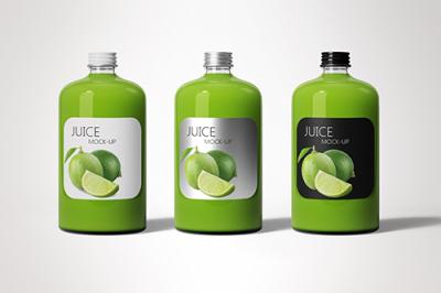 Juice Bottle Mock-Up 4