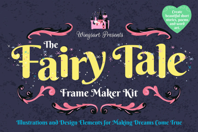 The Fairy Tale Maker Kit