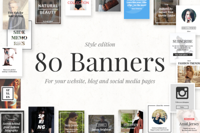 80 Banners - Style Edition