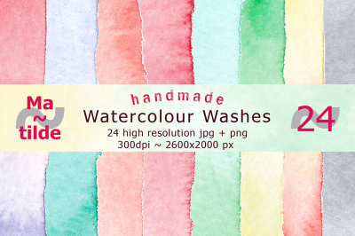 Handmade Colour Washes