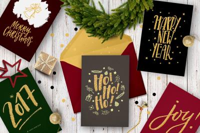 Merry Christmas | 5 festive cards