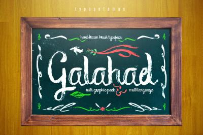 Galahad Typeface