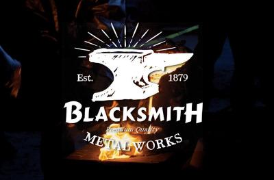 Blacksmith badge (EDITABLE TEXT)