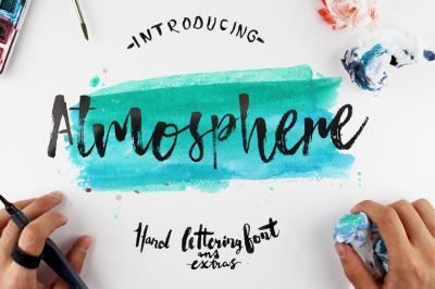 Atmosphere Script Typeface