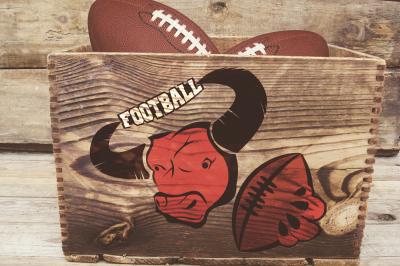 Set of prints Bulls Rugby
