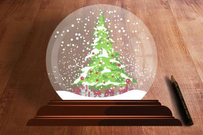 Snow globe - Christmas toy