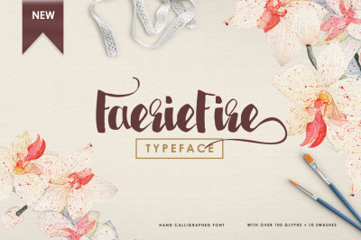 Faeriefire Typeface ( LIMITED 50% OFF! )