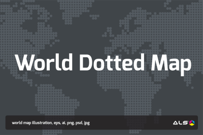 World Dotted Map