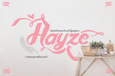 Hayze Typeface