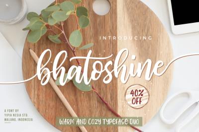 Bhatoshine Font Duo
