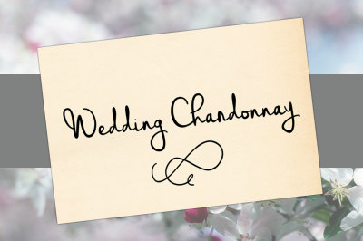 Wedding Chardonnay