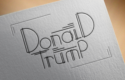 Donald Trump - Hand lettering