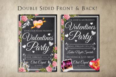 Chalk Valentines Flyer