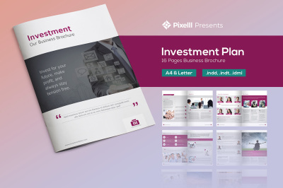 Investment Plan - Business Brochure