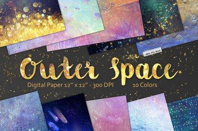 Space Digital paper