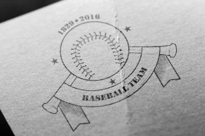 Logos of baseball teams