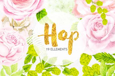 Watercolor Hop