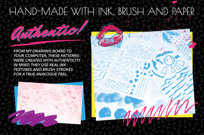 The Ultimate 1980s Pattern Bundle