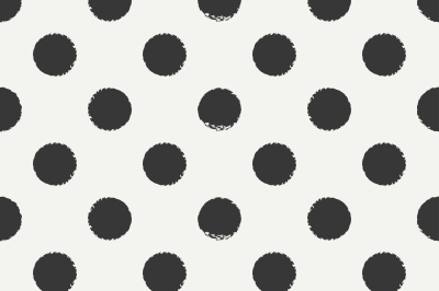 Ink polka dot pattern