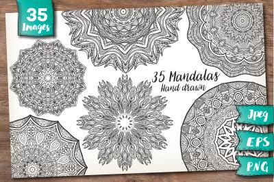 35 Mandalas