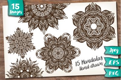 15 Mandalas