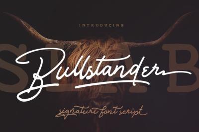 Bullstander Font Set