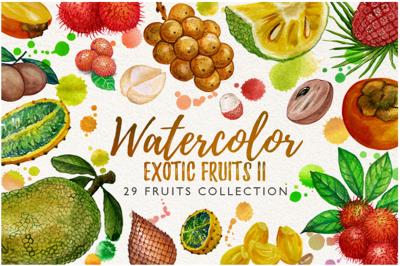 watercolor fruit vol.7