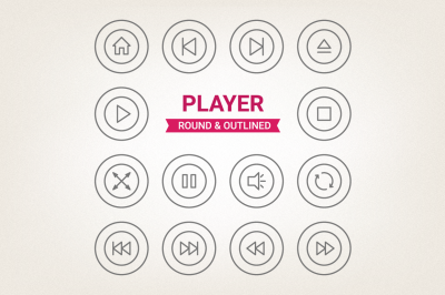 Circle Player Icons