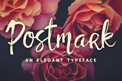 Postmark Brush Font