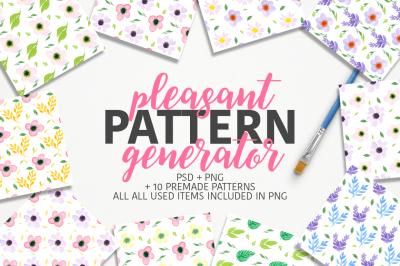 Pleasant Pattern generator