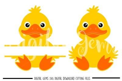 Easter Duck SVG / DXF / EPS / PNG Files