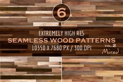Extremely HR Seamless Wood Patterns vol. 2