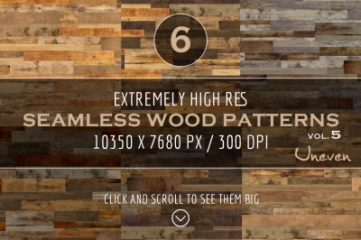 Extremely HR Seamless Wood Patterns vol. 5