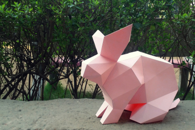DIY Rabbit 3d Model (Printable)