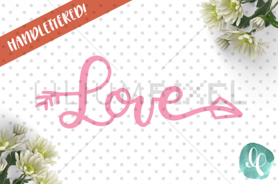 Love Arrow / SVG PNG DXF
