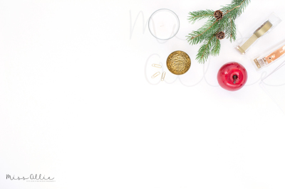 Festive styled stock photography