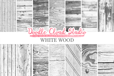 White Wood digital paper, Shabby Old Wood, Distressed Wood Backgrounds, Real Rustic Wood textures Instant Download Personal & Commercial Use