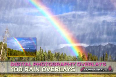 100 RAIN OVERLAYS