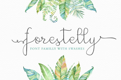 Forestelly familly + swashes
