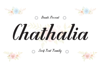Chathalia Font Family