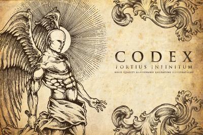Codex Fortius Infinitum Engraving