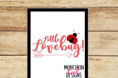 Little Lovebug Cutting Design
