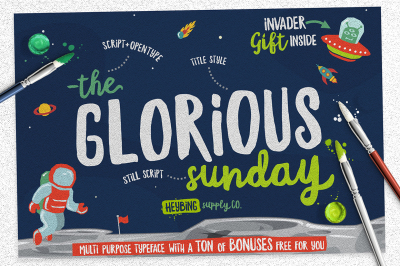 Glorious Sunday +Extras (INTRO SALE)